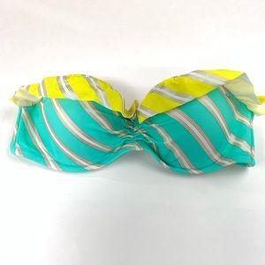 Victorias Secret Bikini Top 32B Strapless Bandeau